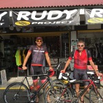 Visit to our Rudy Project sponsor store here in Kona